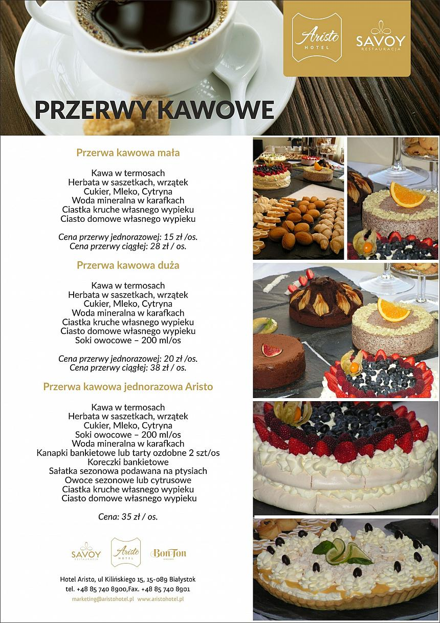 Konferencja Catering Hotel Białystok Aristo